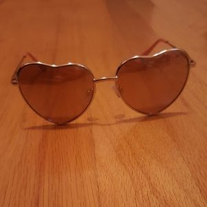 Betsey Johnson Heart sunglasses